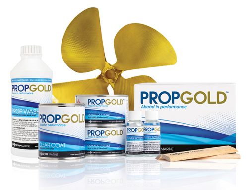 PropGold coating system for propellers and underwater running gear