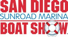 San Diego Sunroad Boat Show Sticky Logo