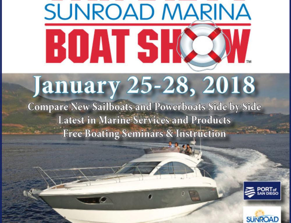 San Diego Sunroad Marina Boat Show is back January 25-28, 2018