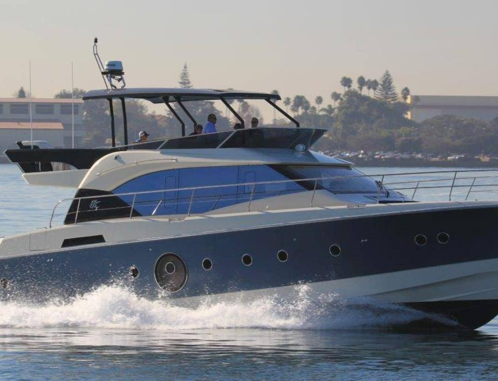 South Coast Yachts debut of the MC6 at the San Diego Sunroad Boat Show