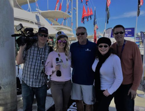 Always having fun at the San Diego Sunroad Boat Show