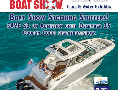 Boat Show Stocking Stuffer – Save $2