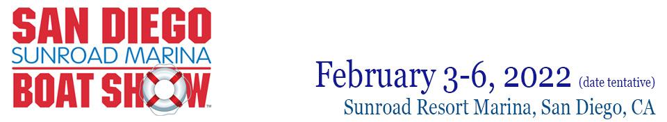 San Diego Sunroad Boat Show Logo